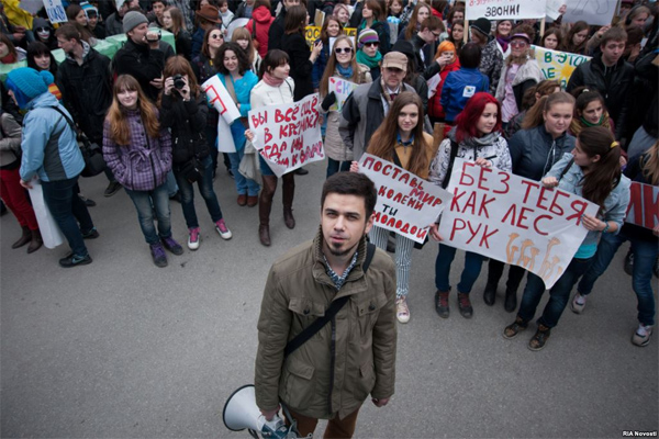 Правозащитники требуют немедленно освободить организатора