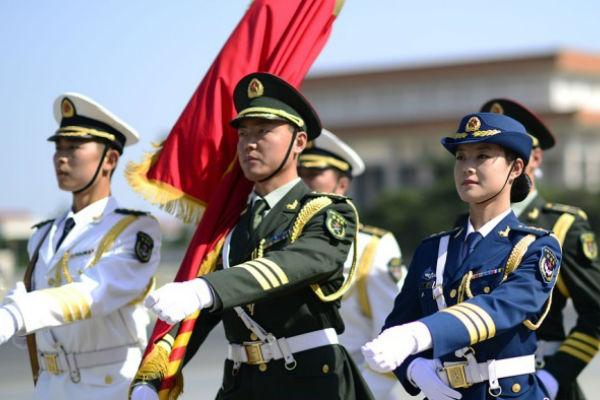 10-часовые репетиции китайцев к Параду Победы не прошли даром