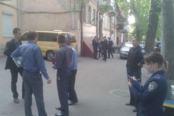В Одессе прогремел взрыв около офиса партии