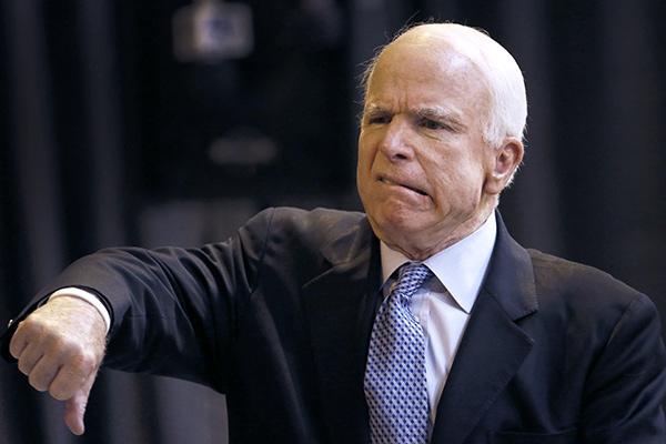 Маккейн не давал согласия на назначение его в Совет реформ при Порошенко