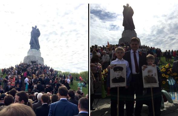 В Германии 15 тысяч человек поклонились