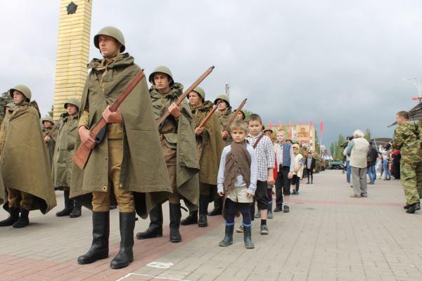 Жители Волгодонска заново пережили войну