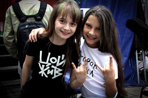 Рок-музыканты и креативные родители провели Kids rock fest