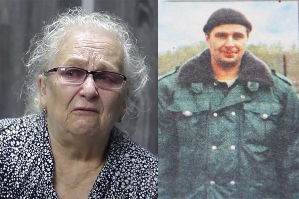 Мать погибшего в Чечне офицера стала бомжом, в ее доме поселился генерал