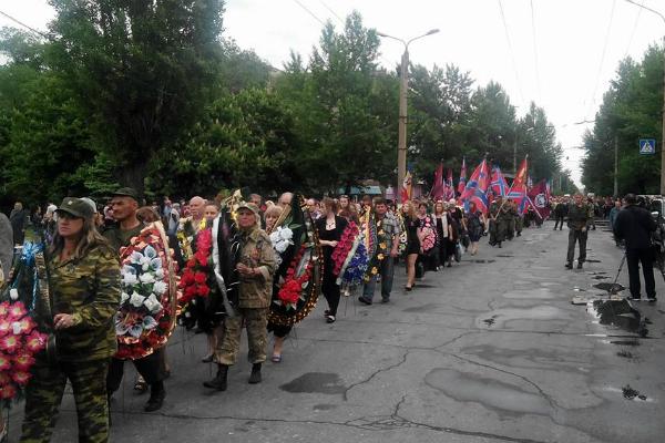 Похороны Мозгового собрали более 1 000 человек