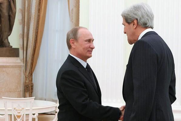 Джон Керри рассказал о переговорах с Владимиром Путиным