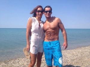 Зоран Шкиряк и его возлюбленная Катерина Храмова