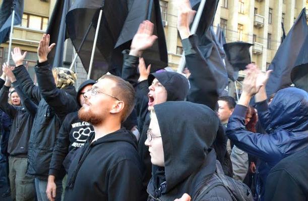 Российские анархисты поддержали Украину