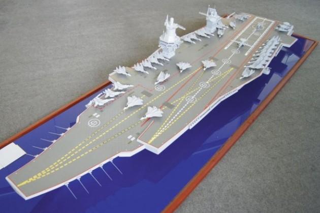 В России закончили разработку суперавианосца