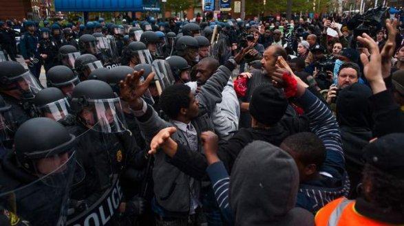 Вслед за Балтимором против полицейского насилия выступила Филадельфия