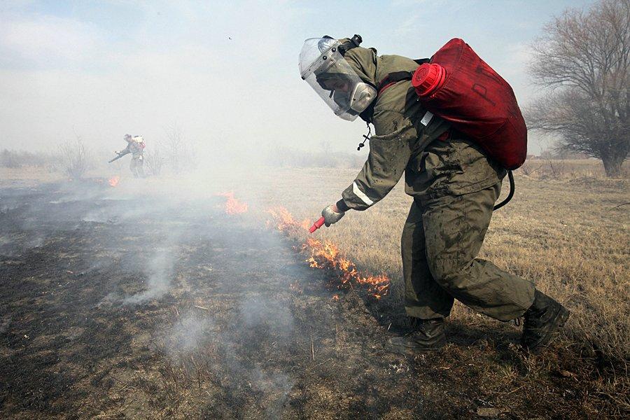 Крупный пожар в Свердловской области уничтожил девять домов