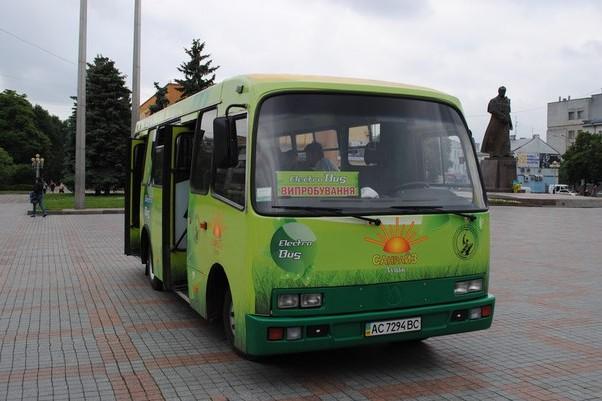 На Украине создали первый электробус на базе маршрутки