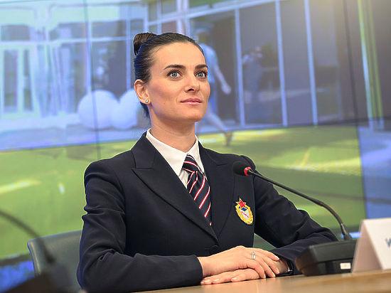 Елена Исинбаева дослужилась до майора