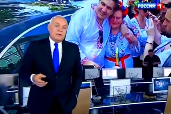 Киселев назвал Саакашвили нарциссом с неприличным количеством паспортов