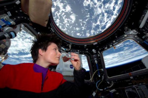 В космосе сварили и выпили первую чашку кофе