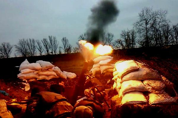 В минометном бою под Луганском ополченцы уничтожили 4 украинских солдат