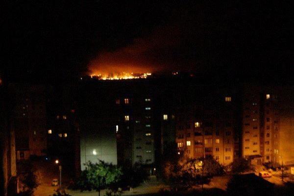 Украинская армия ударила по Донецку из танков и артиллерии