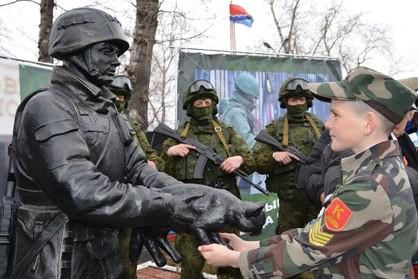В Амурской области поставили памятник