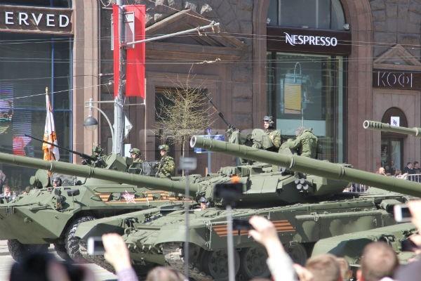 В Москве прошла генеральная репетиция Парада Победы
