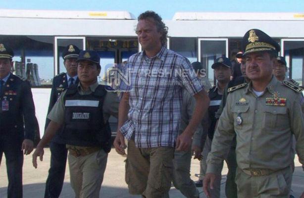 Полиция депортирует бизнесмена Полонского из Камбоджи в Россию