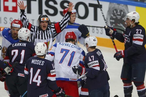 Россия феерично разгромила США и вышла в финал ЧМ по хоккею