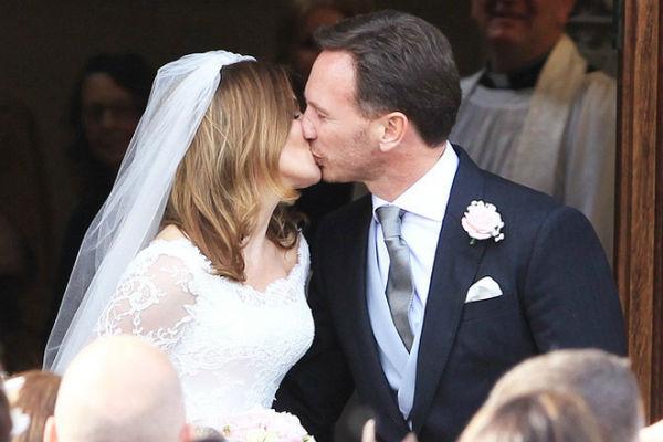 Бывшая участница Spice Girls Джери Холлиуэлл впервые вышла замуж