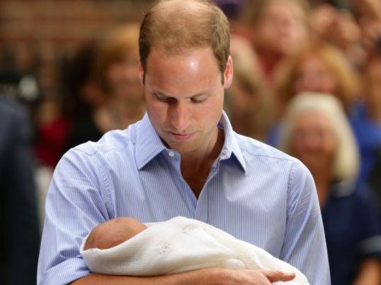 Герцог Кембриджский принц Уильям покинул госпиталь, где родилась его дочь