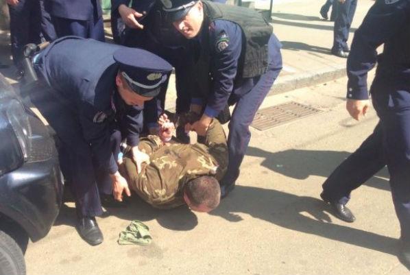 Националисты и анархисты столкнулись в Киеве