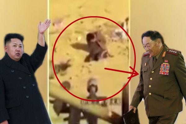 В Сеть попало страшное видео казни министра обороны Северной Кореи
