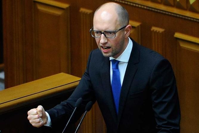 Яценюк признал, что в Донбассе происходит геноцид населения