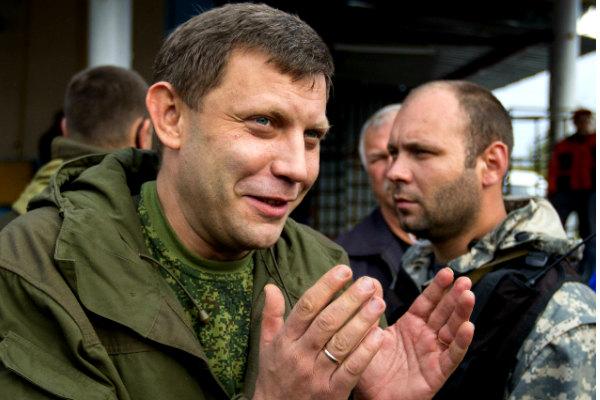 Захарченко из-за ранения не может выезжать за пределы ДНР