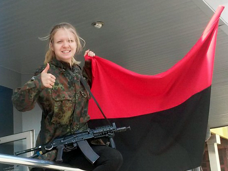 В Киеве арестована еще одна участница расстрела милиционеров на АЗС