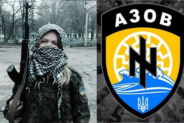 Украинская неонацистка Заверуха перегрызла себе вены в тюрьме