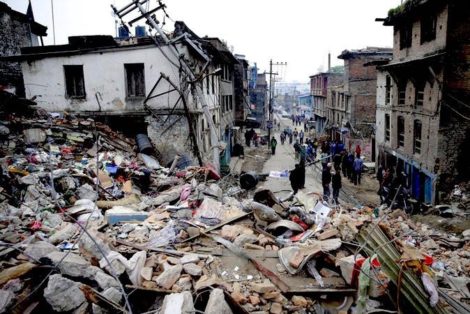 В полуразрушенном Непале произошло новое землетрясение