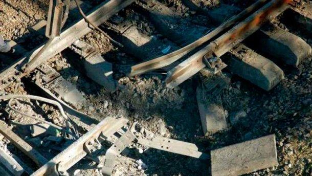 В Одессе диверсанты взорвали железную дорогу