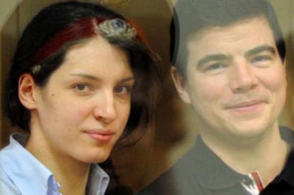 Никиту Тихонова и Евгению Хасис этапировали в Москву