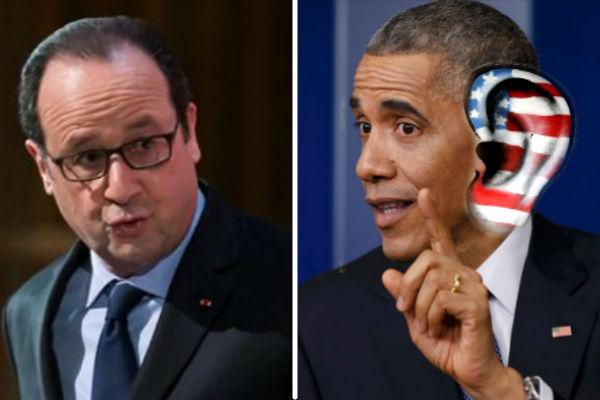 Олланд лично спросит с Обамы за прослушку французов АНБ