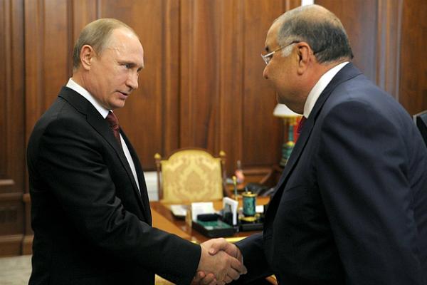 Путин поговорил с Усмановым о спорте