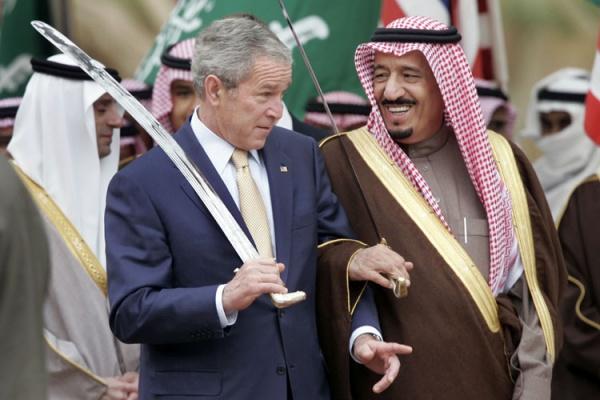 Буш-младший призывает к новому вторжению в Ирак
