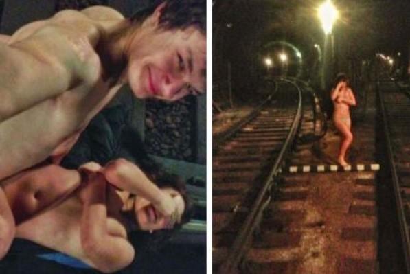 За секс в метро юная нарушительница заплатит 25 тысяч рублей