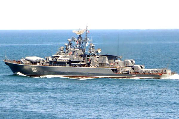 Российский боевой корабль испугал под Одессой украинские ВМС