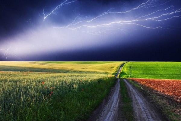 Школьника на мотороллере убило молнией в Омской области