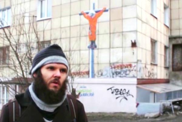 Скандального автора «распятого Гагарина» приговорили к символическому штрафу