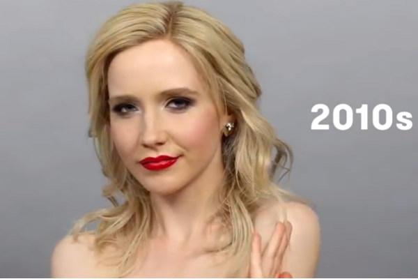 Видео об эволюции русской красоты за 100 лет стало хитом YouTube