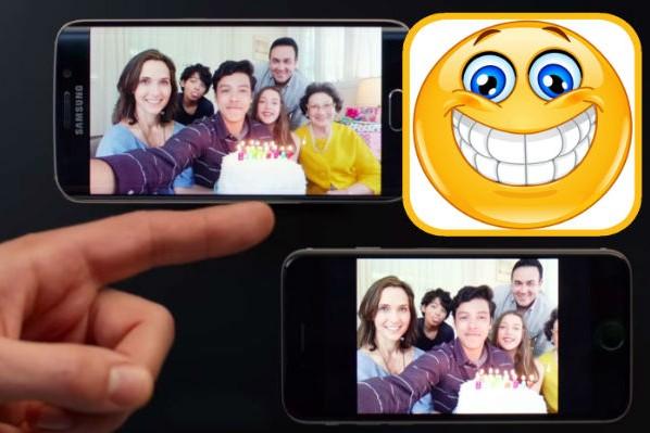 Samsung высмеял iPhone 6 Apple за