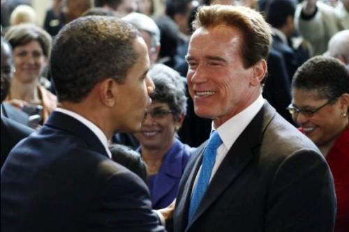 Арнольд Шварценеггер хочет сесть в кресло Барака Обамы