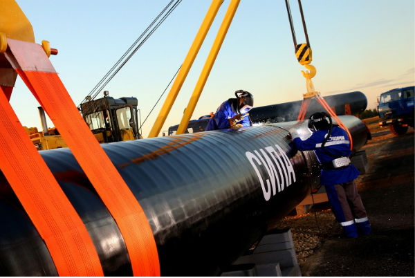 Китай начал строить «Силу Сибири» для приема газа из России
