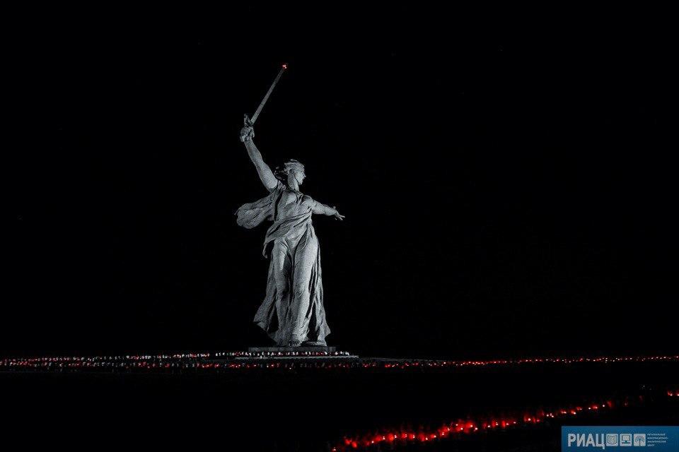 День скорби в Волгограде