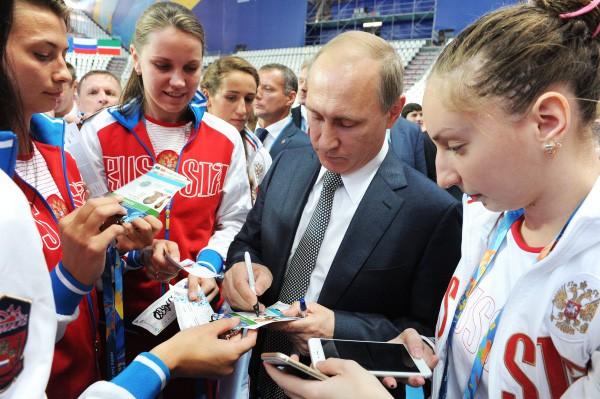 Владимир Путин не против заняться водным поло