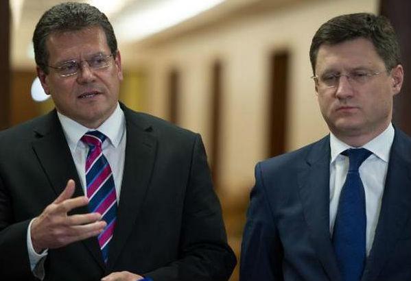 Новак призывает к ответу Шефчовича за обвинение в угрозе энергобезопасности